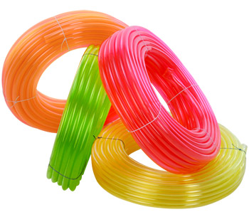 PVC Multi Colored Transparent Pipe 01