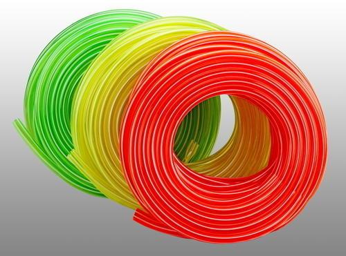 PVC Multi Colored Transparent Pipe 02