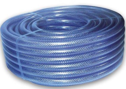 PVC Nylon Blue Braided Pipe 01