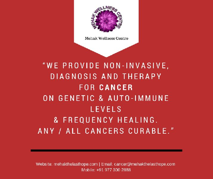 Cancer Specialist Non-Invasive  Diagnosis & Therapy