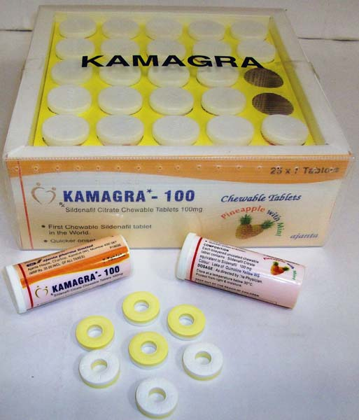Pineapple Kamagra Chewable Tablets