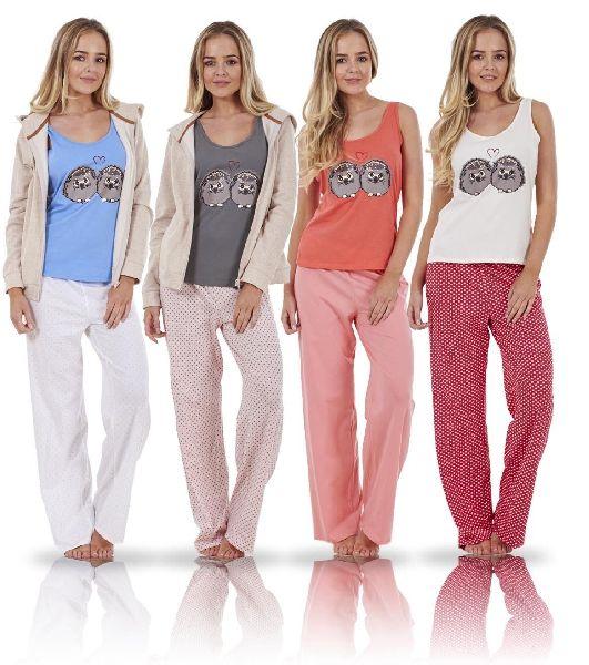 bb49354c0f Ladies Pyjama Set - Manufacturer Exporter Supplier in Tirupur India