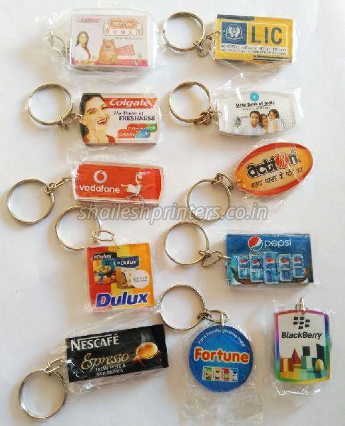 Acrylic Digital Photo Keychain 01