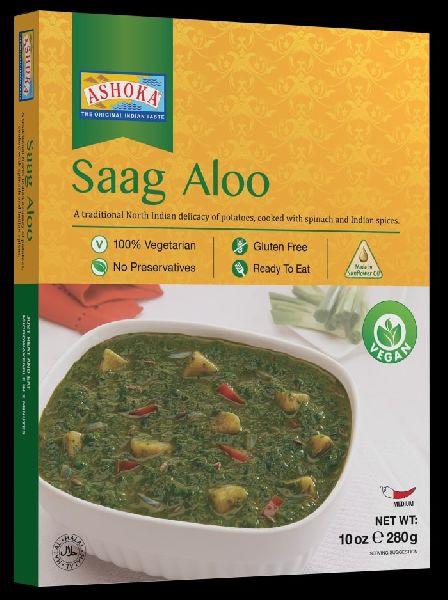 Ashoka Saag Aloo