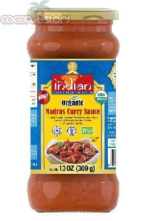 Organic Madras Curry Sauce
