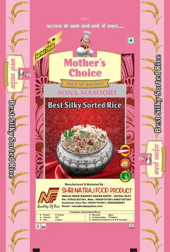 Mothers Choice Sona Masoori Sorted Rice