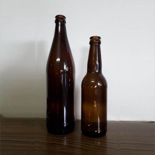 Amber Beer Glass Bottles