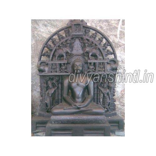Black Marble Bhagwan Mahaveer Ji