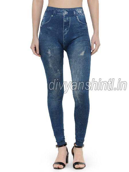 Ladies Denim Jeggings