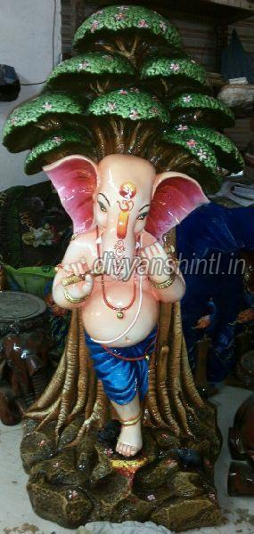 Marble Dust Ganesh Statue