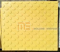 Glossy Finish Bindi Yellow Parking Tile