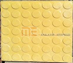 Glossy Finish Dollar Yellow Parking Tile