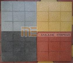 Glossy Finish Nine Square Parking Tile