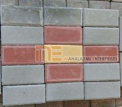 Matt Finish Brick Paver Block