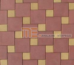 Square Pattern Paver Block