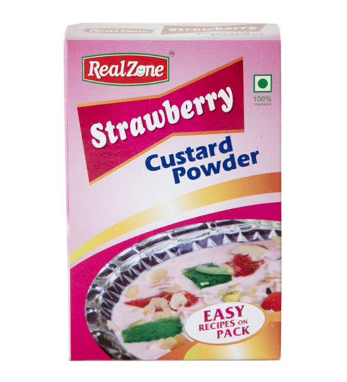 Strawberry Custard Powder