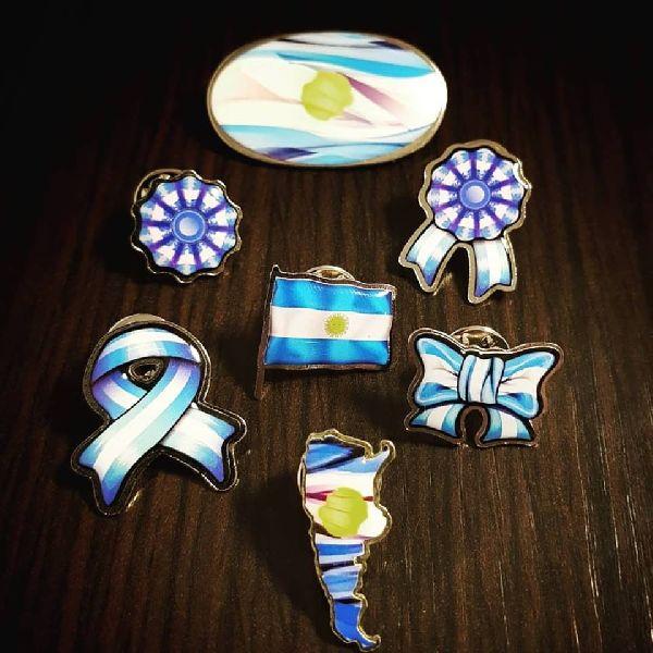 Patriotic Badge Pin