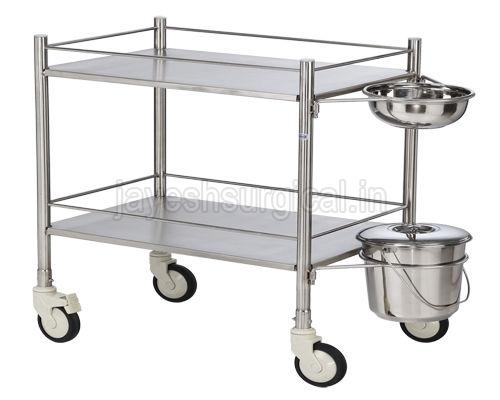 Stainless Steel Instrument Trolley