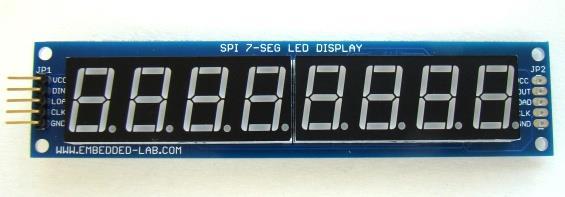 8 Way 7 Segment Display System