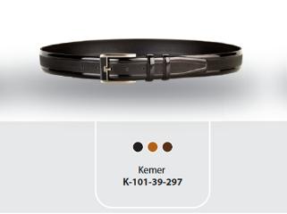 K-101.39.297 Original Cow Leather Mens Belt
