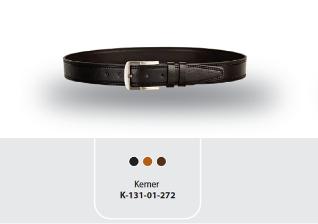 K-101.87.302 Original Cow Leather Mens Belt
