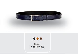 K-131.01.272 Original Cow Leather Mens Belt