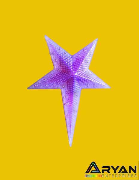 Pink Christmas Stars 06