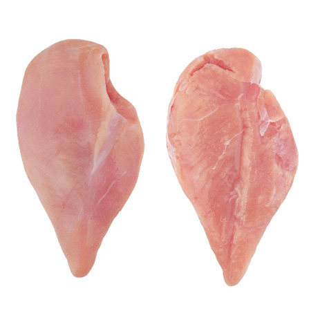 Boneless Skinless Half Chicken Breast Without Inner Fillet