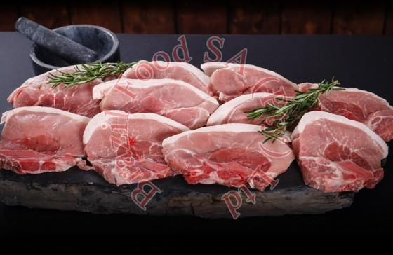 Frozen Pork Large Lean Chops