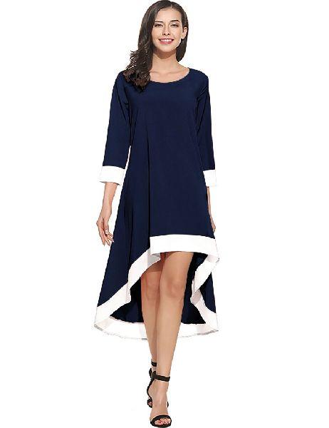 D-216 Magic Blue Western Dress 01