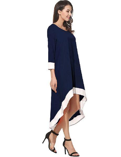 D-216 Magic Blue Western Dress 02