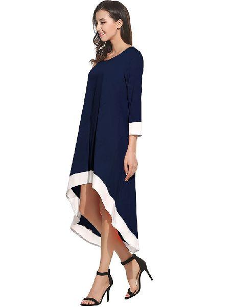 D-216 Magic Blue Western Dress 03