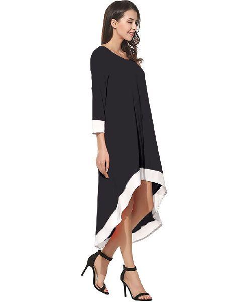 D-220 Magic Black Western Dress03