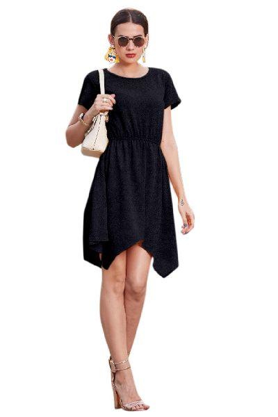 D-221 Vegas Black Western Dress 01