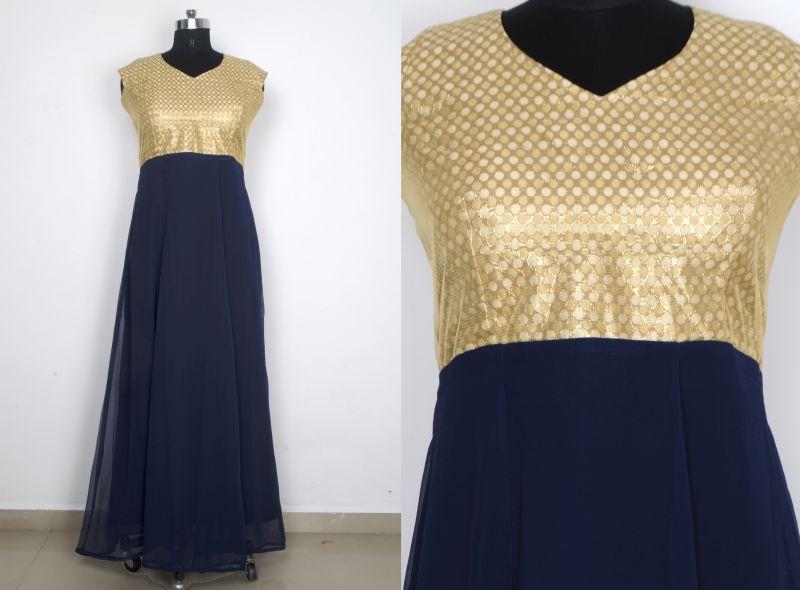 G-12 Olay Blue Gown 02