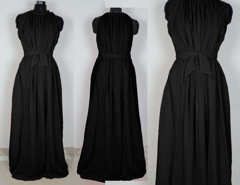 G-52 Dyna Black Gown 03