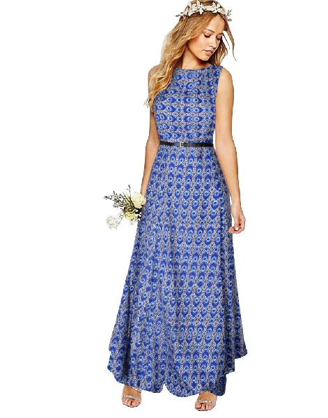 G-53 Morpichh Blue Gown 01