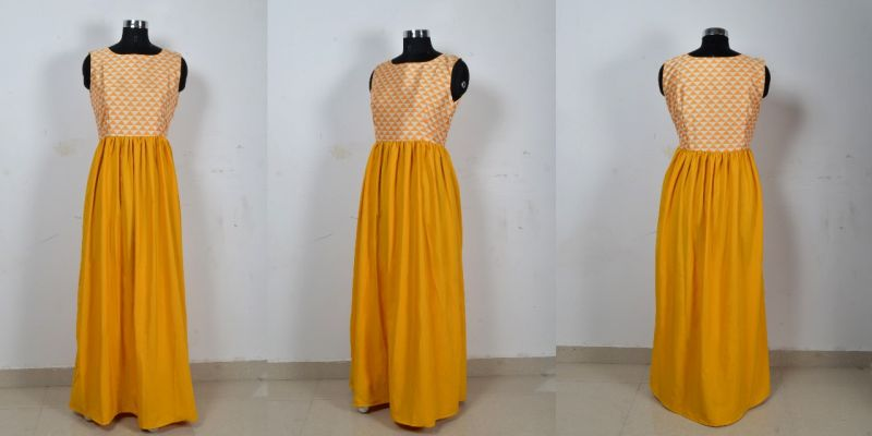 G-58 Barbie Yellow Gown 03