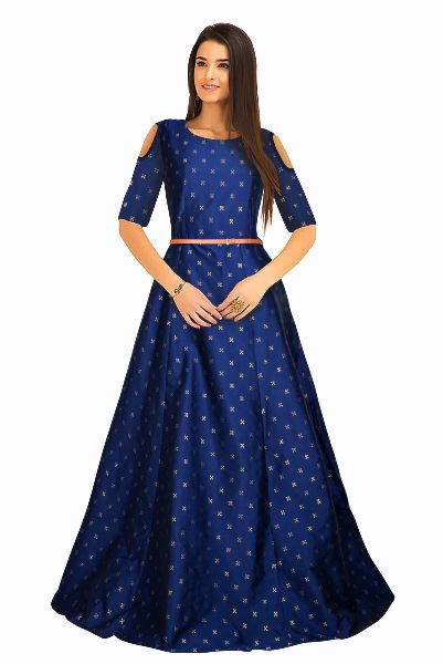 G-59 Sofia Blue Gown 03