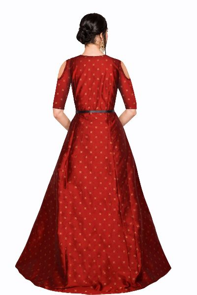 G-61 Sofia Red Gown 02