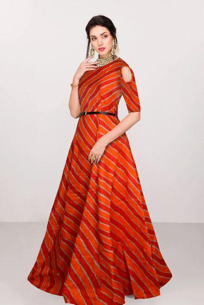 G-69 Prince Orange Gown 02