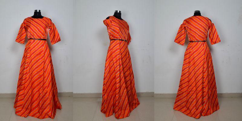 G-69 Prince Orange Gown 04
