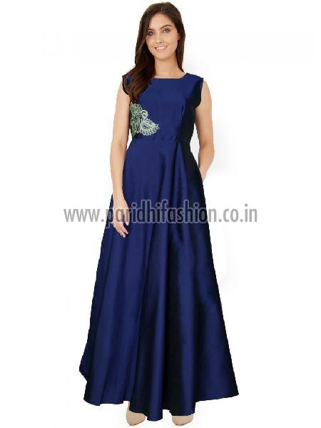 G-03 Paris Navy Blue Gown