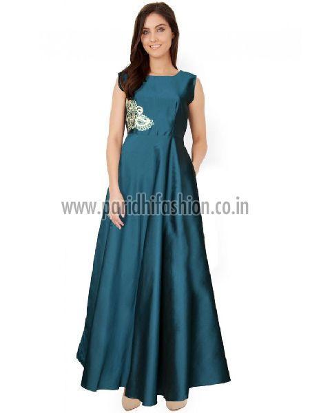 G-04 C Paris Green Gown