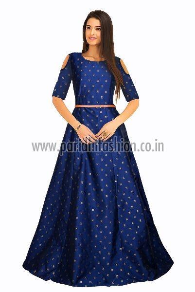 G-59 Sofia Blue Gown 03