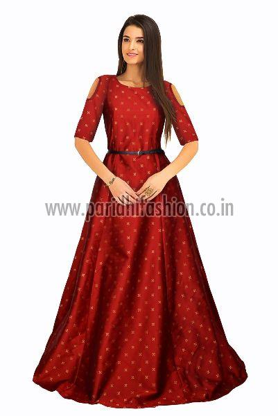 G-61 Sofia Red Gown 01