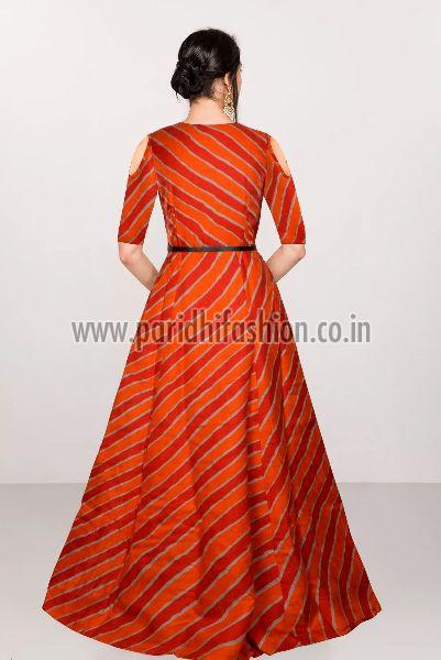 G-69 Prince Orange Gown 03