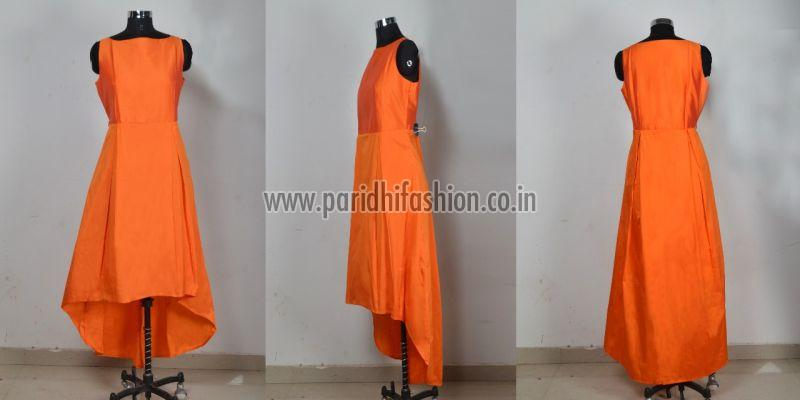G-78 Nitya Orange Gown 02