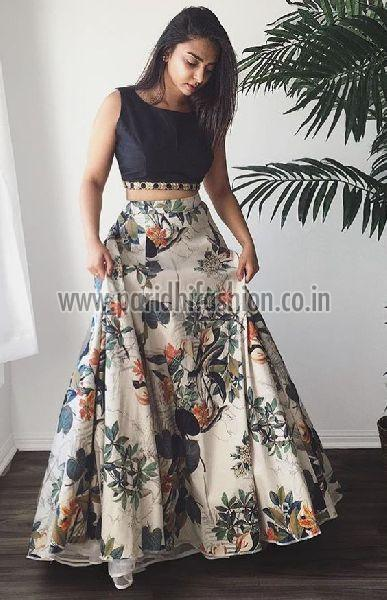 L-10 Fox Cream Lehenga