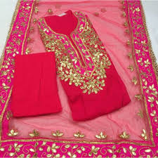 Punjabi Suit Dress Material